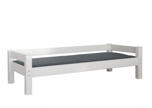 Divan bed 90x200 LAHE pine | white