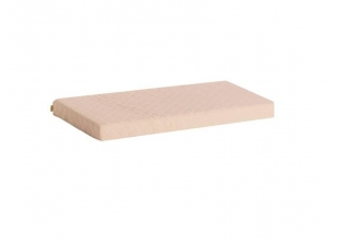 Foam Mattress with cover 9x70x160 cm, sand