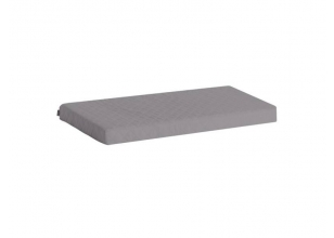 Foam Mattress with cover 9x70x160 cm, gray