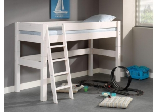 Midhigh bed Lahe white