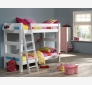 Children´s Bunk Bed LAHE, white