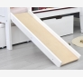 Cabin bed with safety barrier and slide 90X200 JERWEN