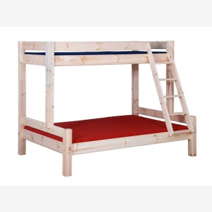 Bunk bed LAHE 90/140, natural