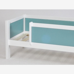 Divan bed with safety barrier 90x200 JERWEN