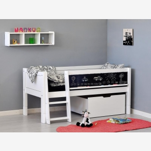 Cabin bed with blackboard 70x160 JERWEN