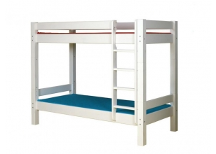 Children´s Bunk Bed LAHE 90x200, white