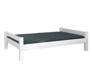 Bed LAHE 140x200 white