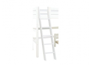 PREMIUM Ladder for high sleeper - slant - white