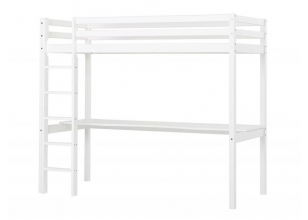 Highbed BASIC 90x200 with tabletop white