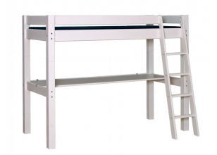 Children´s High Bed LAHE with table top