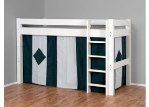 Midhigh bed LAHE, white