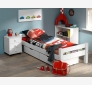 Bed 90x200 LAHE pine | white
