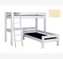 Bunk Bed LAHE with Corner Design, vanilla