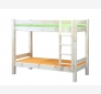 Bunk bed LAHE 90x200, natural lacquer